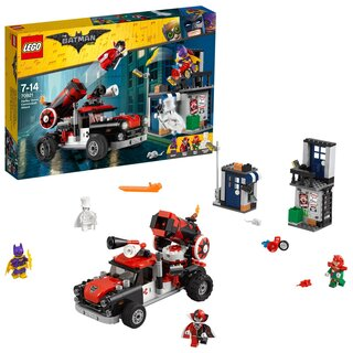 LEGO 70921 - Batman Movie Harley Quinn  Kanonenkugelattac - Neuware